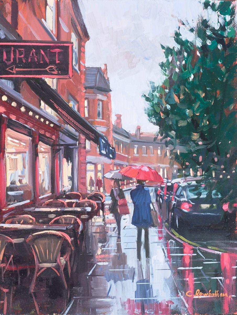 Clapham Common, Rainy Evening